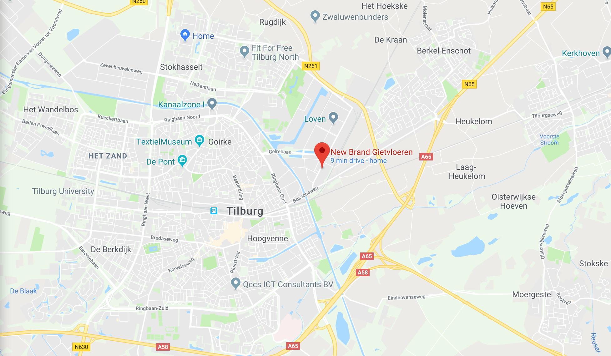 Bedrijfsvloer Tilburg